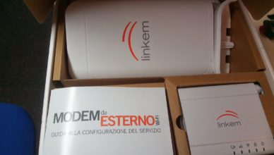 modem link da esterno nella scatola come restituire