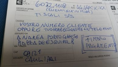 fax tiscali store per riattivazione clienti servizio sospeso morosi
