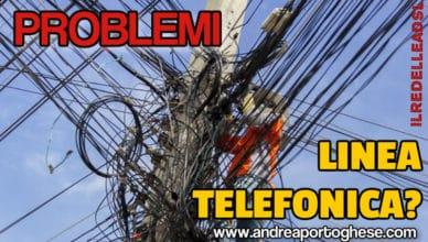 Problemi linea telefonica
