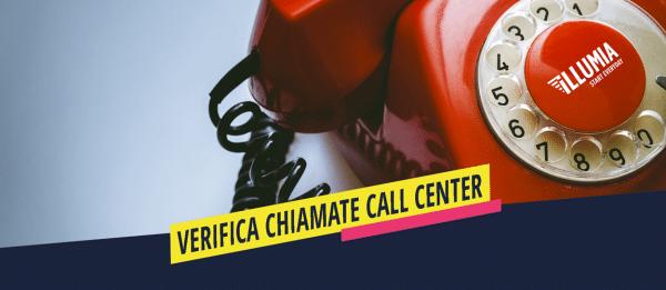illumia point VERIFICA CHIAMATE CALL CENTER
