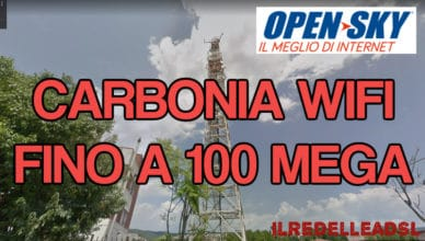 CARBONIA wifi 100 mega