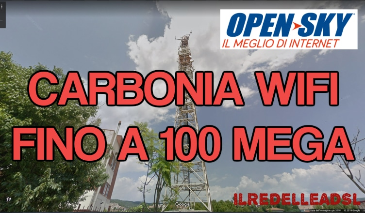 CARBONIA wifi 100 mega