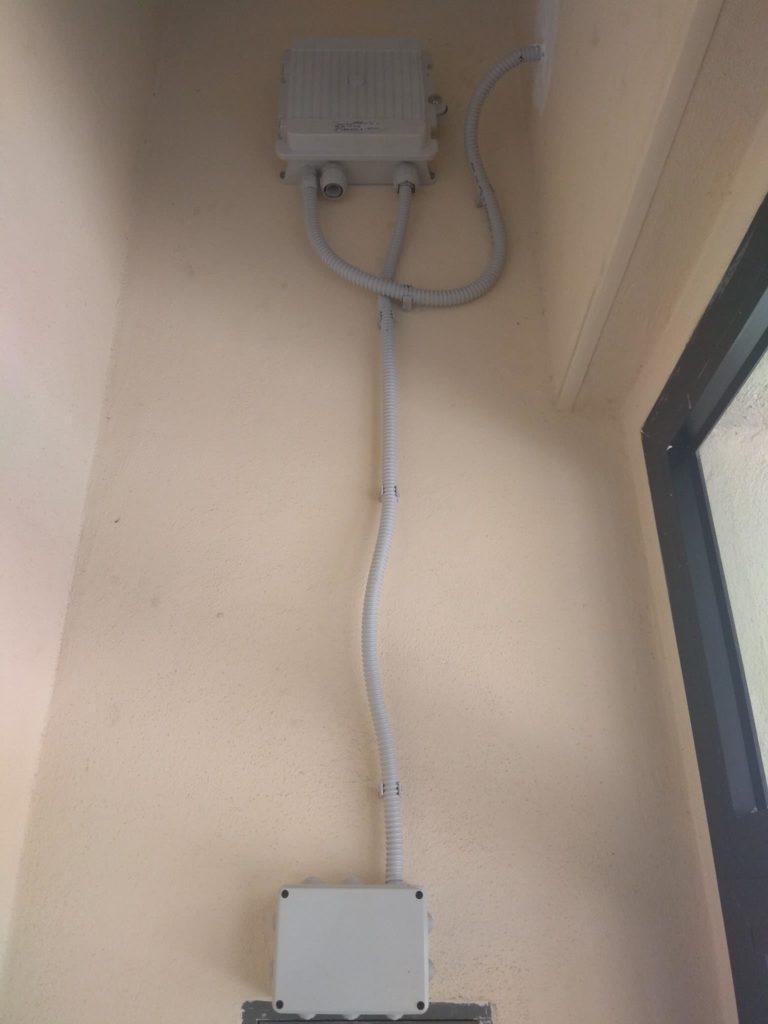fibra ottica cagliari dentro un palazzo