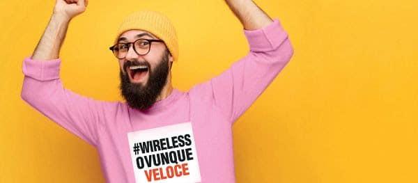wireless 100 mega carbonia