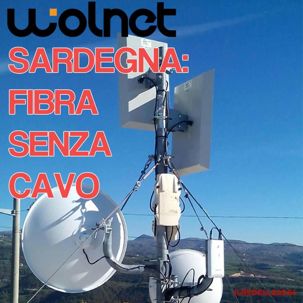 SARDEGNA FIBRA SENZA CAVO WOLNET