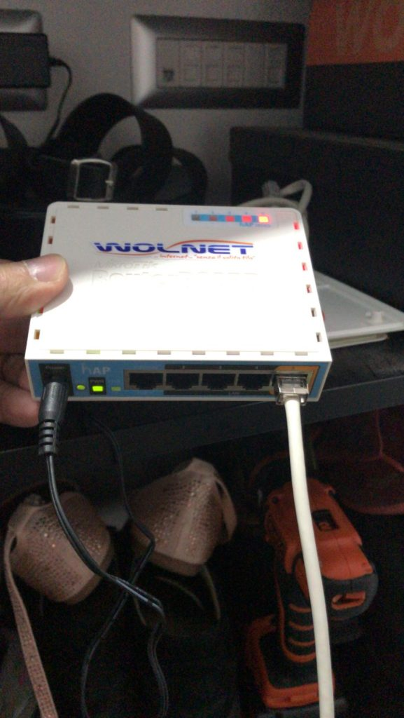 modem wolnet