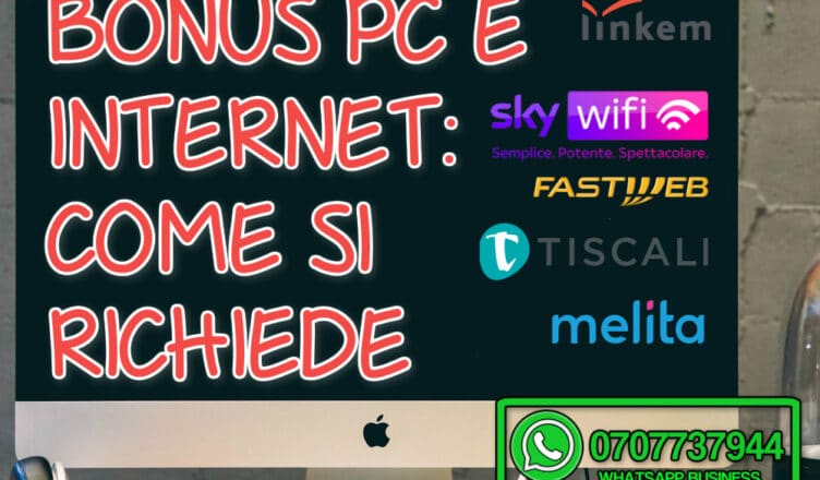Bonus pc E INTERNET